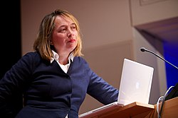 Arianne Baggerman @ the unbound book conference (5739139703).jpg