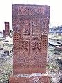 Arinj khachkar, old graveyard (27).jpg