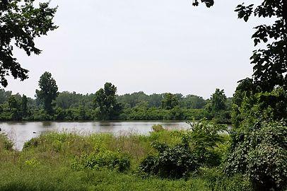 Arkansas River at Van Buren, AR