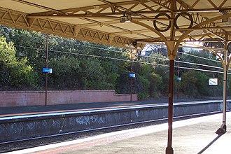 Armadale, Victoria - Armadale railway station