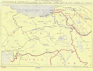 United Armenia - Armenian and Georgian claims to Turkish Territory, British Foreign Office, May 1946