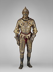 Étienne Delaune: Parade Armour of Henry II of France