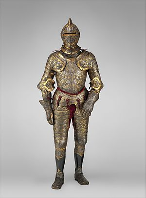 Parade Armour of Henry II of France - Image: Armor of Henry II, King of France (reigned 1547–59) MET DP256960