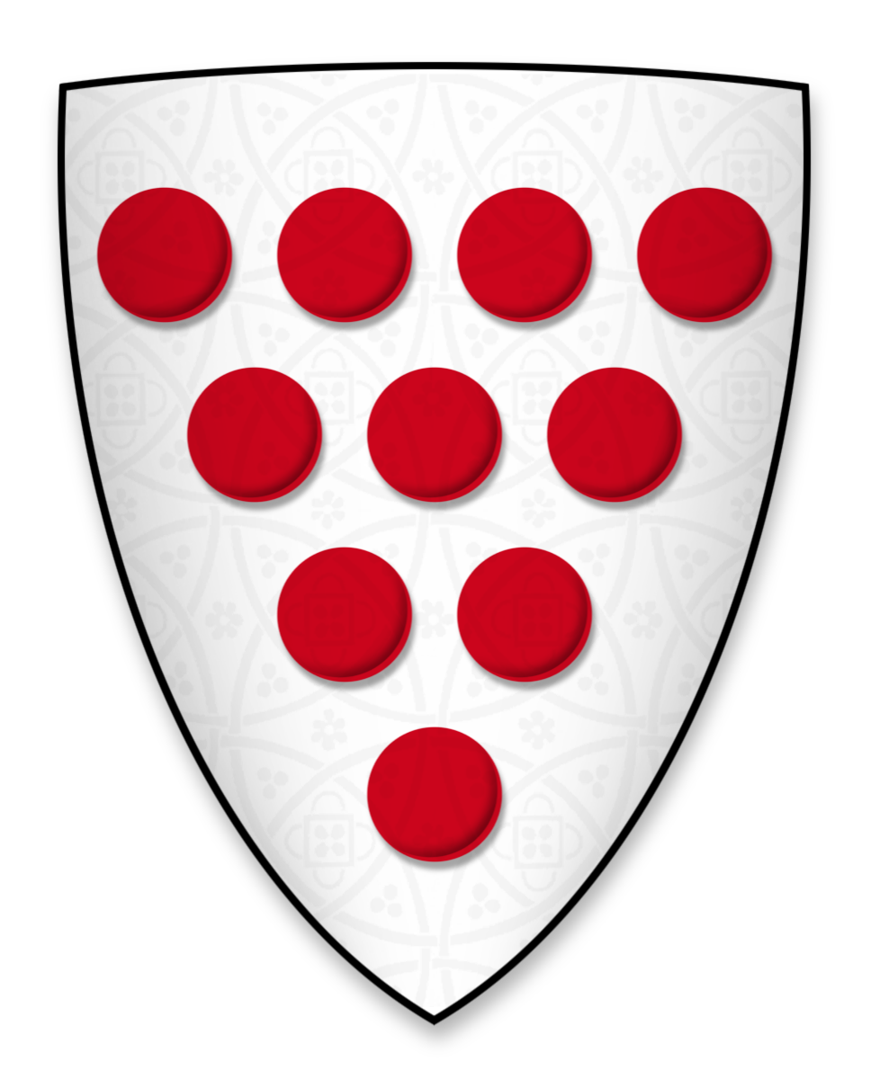 Arms displayed by Walter de Gray, Bishop of Worcester, at the signing of Magna Charta
