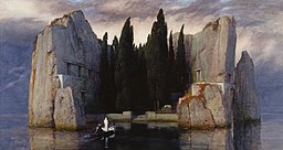 Arnold Böcklin - Wyspa umarłych III (Alte Nationalgalerie, Berlin)