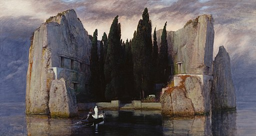 Arnold Böcklin - Die Toteninsel III (Alte Nationalgalerie, Berlin)
