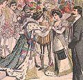 Arrivée des Reines de Paris aux fêtes du Marché de Porta Palazzo, à Turin en septembre 1904.jpg