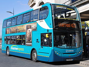 Alexander Dennis - Arriva North West Enviro400 in Liverpool in March 2013