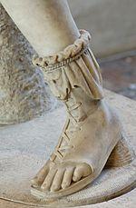 Calzatura greca.