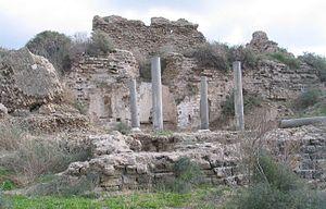 Ashkelon National Park - Roman ruins at Ashkelon National Park