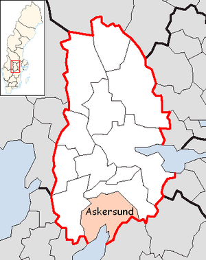 Askersund Municipality in Örebro County.png