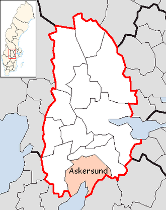 Askersund Municipality - Image: Askersund Municipality in Örebro County