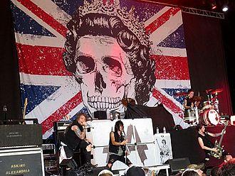 Asking Alexandria - Asking Alexandria performing at Mayhem Festival 2012