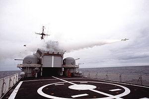 Aspide - Image: Aspide launch