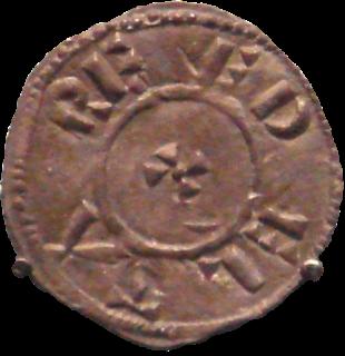 Guthrum King of Kingdom of East Anglia, 879-890