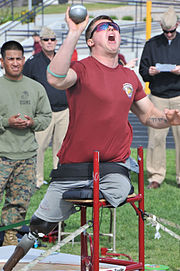 Athletes compete at Wounded Warrior Trials Image 6 of 8