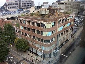 Atlanta Constitution Building - The Atlanta Constitution Building in 2016