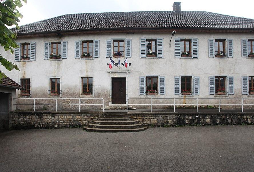 Mairie d'Aubonne (Doubs).
