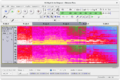 Audacity 2.1 playback in spectrogram view.png