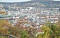 Ausblick vom Aussichtspunkt an der Zeppelinstraße auf die Stadtmitte von Stuttgart - panoramio.jpg