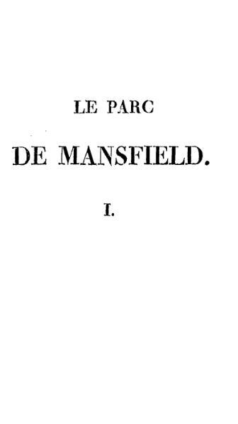 File:Austen - Le Parc de Mansfield tome1et2.djvu