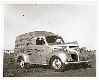 Australian National Airways - Australian National Airways Freighter Service van, 1946