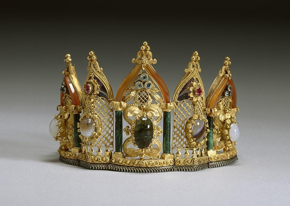 Austrian - Gothic-Style Bracelet - Walters 571999