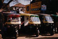 Auto rickshaws