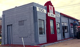 National Register of Historic Places listings in Canadian County, Oklahoma - Image: Avat's Service