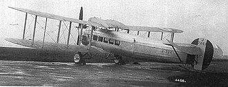 Avro Andover - First prototype Andover