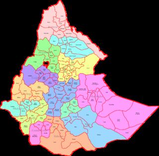 Awrajja former subdivisions of Provinces in Ethiopia