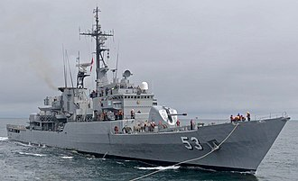 Peruvian Navy - BAP Almirante Grau (FM-53), current fleet flagship