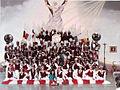 BCI inicios uniforme Rojo (vinotinto) año 1987.jpg