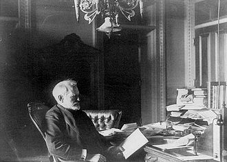 Benjamin F. Tracy - Benjamin F. Tracy in his office (c. 1890)