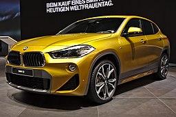 BMW X2 Genf 2018