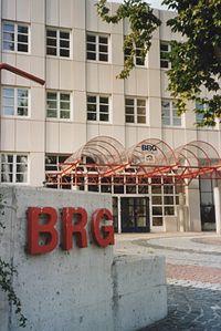 BRG Krems - student entrance