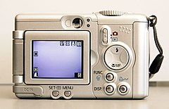 Back of canon powershot a95 with screen folded.jpg