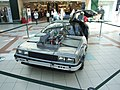 Back to the Future DeLorean, Hempstead Valley Shopping Centre - geograph.org.uk - 2064086.jpg