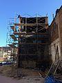 Back with scaffolding, 1232 Druid Hill Avenue (32371710562).jpg