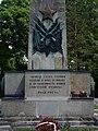 Baden, Russenfriedhof, Inschrift des Obelisks.JPG