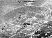 Baghdad Nuclear Research Facility - 10 March 1991. The Tuwaythah Nuclear Research Facility, Baghdad, Post-strike