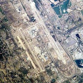 Satellite View Iraqi Torture Building Bombed In Sadr City