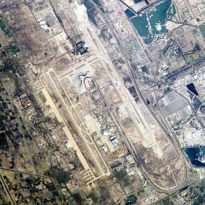 Baghdad International Airport - Image: Baghdadinternational airportaerial