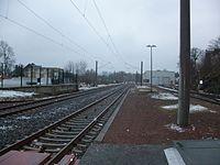 Bahnhof Stollberg (Erzgeb) Gleise Richtung Zwönitz.JPG