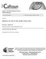Balance of risk in the South China Sea (IA balanceofriskins1094545901).pdf