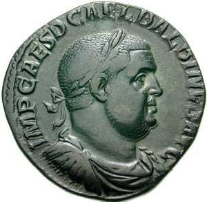 Balbinus - Sestertius of Balbinus.