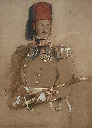 Baldwin Wake Walker - Walker in Turkish service, 1840.