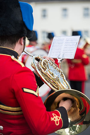 Corps of Army Music - Band of the Corps of the Royal Engineers in June 2014