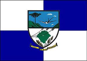 Nova Petrópolis - Image: Bandeira cidade nova petropolis RS