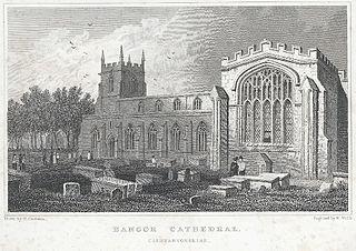Bangor Cathedral: Caernarvonshire